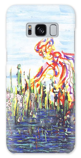 Moses In The Rushes Galaxy Case