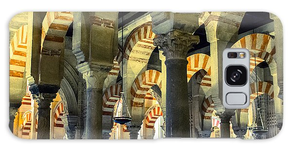 Mosque Cathedral Of Cordoba 2 Galaxy Case