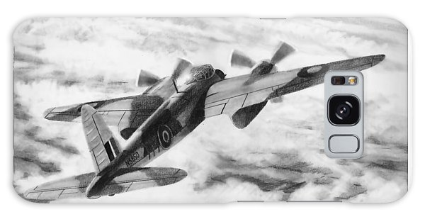 Mosquito Fighter Bomber Galaxy Case by Douglas Castleman