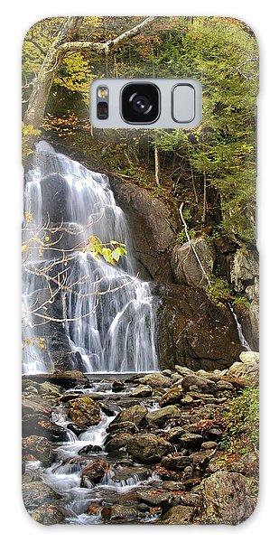 Moss Glen Falls Galaxy Case