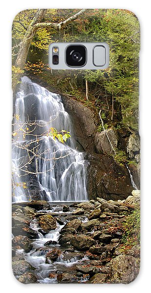 Moss Glen Falls Galaxy Case