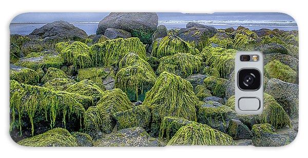Moss Rocks Galaxy Case