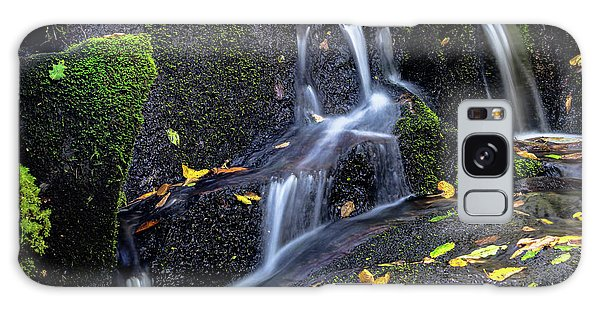 Emerald Cascades Galaxy Case