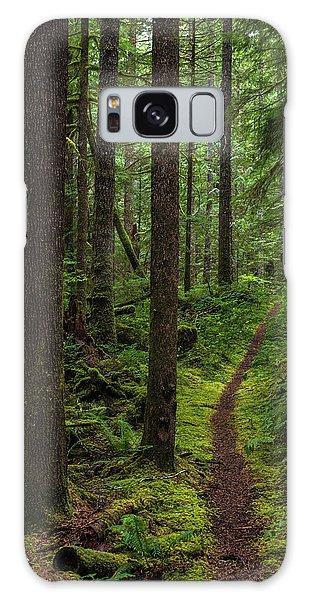 North Souixon Creek Mossy Trail Galaxy Case