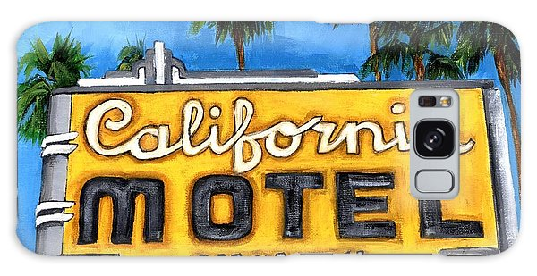Motel California Galaxy Case