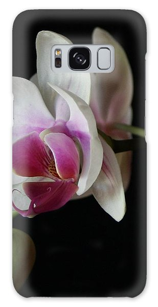 Moth Orchid 1 Galaxy Case by Marna Edwards Flavell
