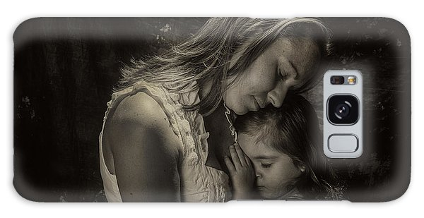 Mother Daughter Galaxy Case by Kevin Cable