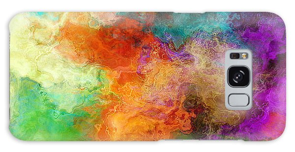 Mother Earth - Abstract Art Galaxy Case