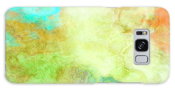 Mother Earth - Abstract Art - Triptych 1 Of 3 Galaxy Case
