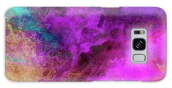 Mother Earth - Abstract Art - Triptych 3 Of 3 Galaxy Case