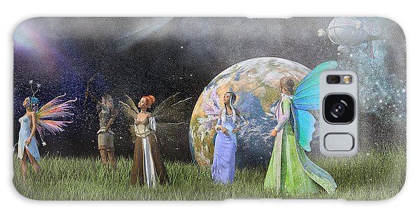 Milky Way Galaxy Case - Mother Earth Series Plate1 by Betsy Knapp