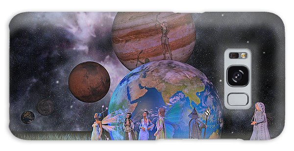 Milky Way Galaxy Case - Mother Earth Series Plate2 by Betsy Knapp