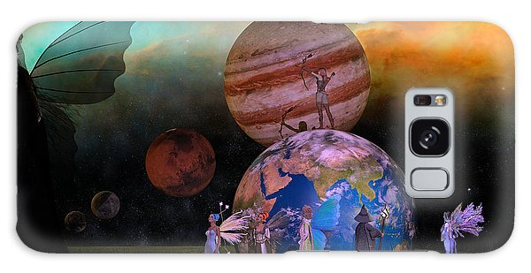 Milky Way Galaxy Case - Mother Earth Series Plate6 by Betsy Knapp