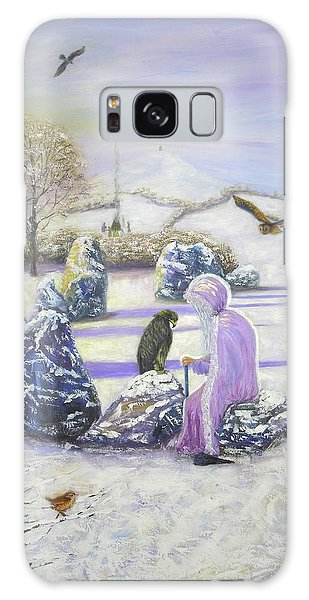 Mother Of Air Goddess Danu - Winter Solstice Galaxy Case