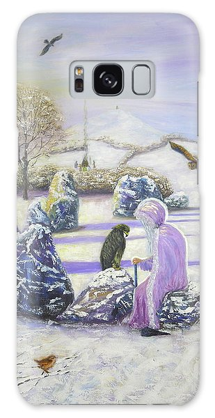 Mother Of Air Goddess Danu - Winter Solstice Galaxy Case