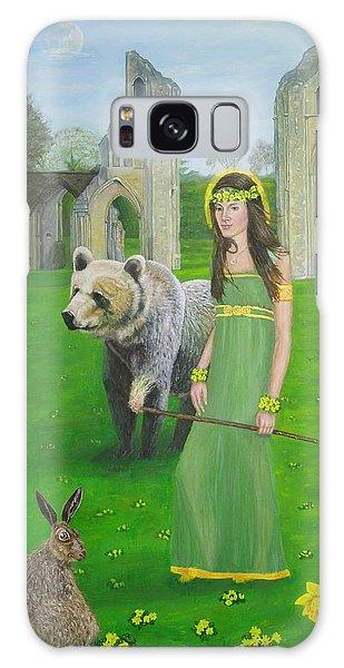 Mother Of Fire Goddess Artha - Spring Equinox Galaxy Case