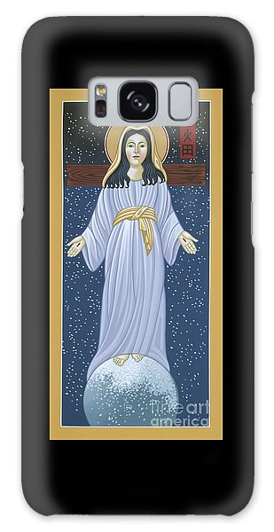 Galaxy Case featuring the painting Mother Of God Of Akita- Our Lady Of The Snows 115 by William Hart McNichols