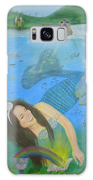 Mother Of Water Goddess Domnu - Summer Solstice Galaxy Case