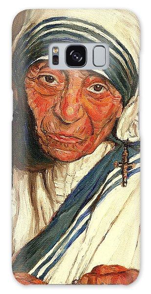 Mother Teresa  Galaxy Case by Carole Spandau