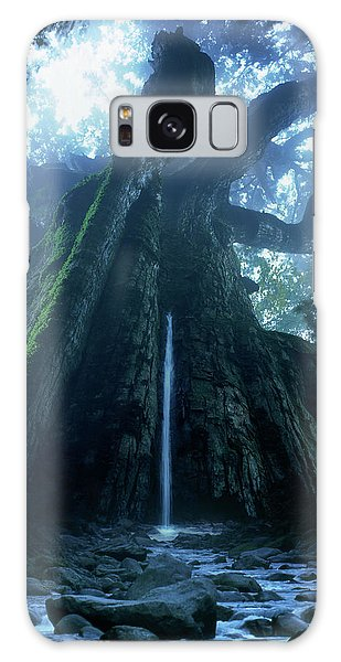 Mother Tree Galaxy Case by Tatsuya Atarashi