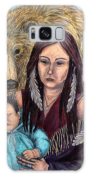 Motherhood-guardian Spirits Galaxy Case