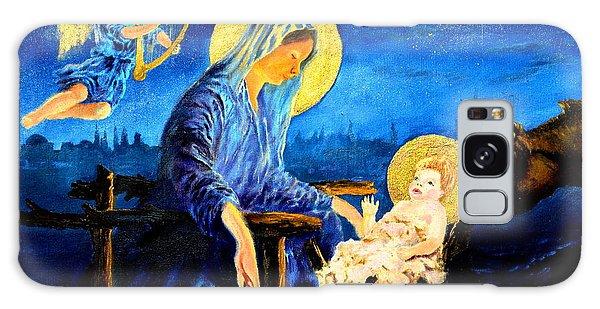 Motherhood Galaxy Case by Henryk Gorecki