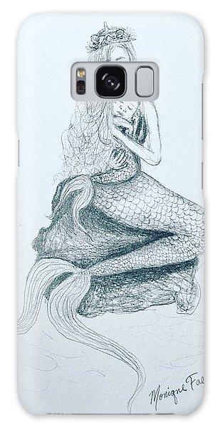 Motherhood Mermaid Galaxy Case