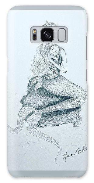 Motherhood Mermaid Galaxy Case
