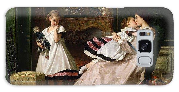Tapestry Galaxy Case - Motherly Love by Gustave Leonard de Jonghe