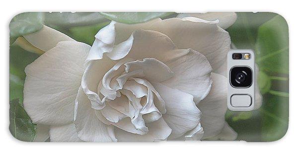 Gardenia Galaxy Case - Mother's Day Gardenia by Teresa Wilson