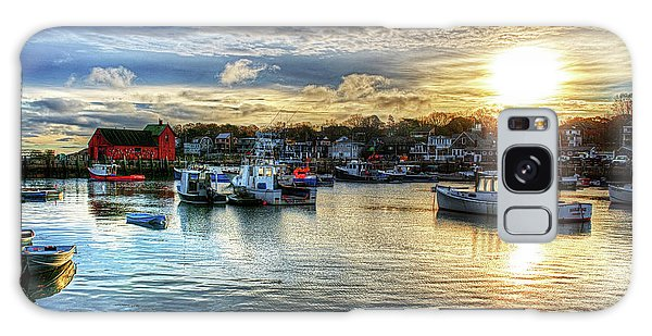 Motif #1 Sunrise Rockport Ma Galaxy Case
