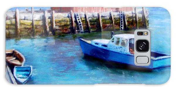 Motif One Rockport Harbor Galaxy Case by Jack Skinner