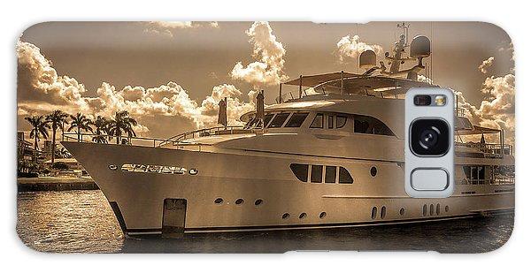 Motor Yacht Galaxy Case - Sofia Motor Yacht by Art Spectrum