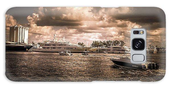 Motor Yacht Galaxy Case - Motor Yachts by Art Spectrum