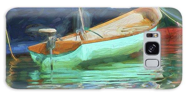 Powerboat Galaxy Case - Motorboat - Reflection by Nikolyn McDonald