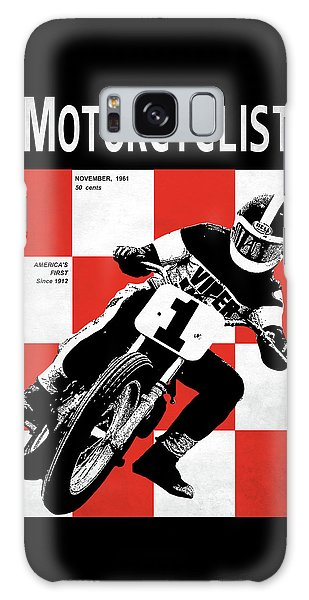 Magazine Cover Galaxy Case - Motorcycle Magazine Number One 1961 by Mark Rogan
