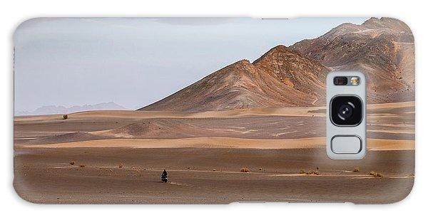 Motorcycles In Persian Desert Galaxy Case