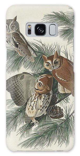 Mottled Galaxy Case - Mottled Owl by Dreyer Wildlife Print Collections