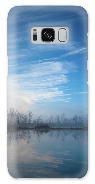Galaxy Case featuring the photograph Mottled Sky by Davor Zerjav