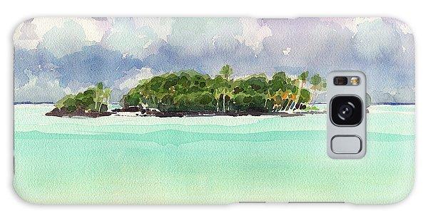 Motu Rapota, Aitutaki, Cook Islands, South Pacific Galaxy Case