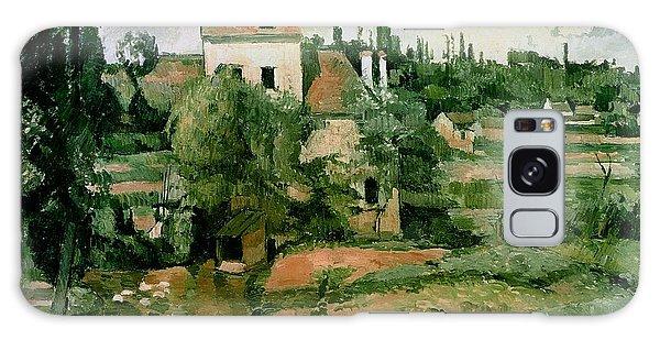 Crt Galaxy Case - Moulin De La Couleuvre At Pontoise by Paul Cezanne