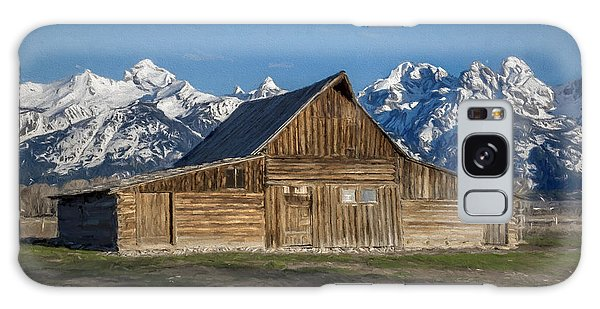 Galaxy Case featuring the photograph Moulton Barn by Lou Novick