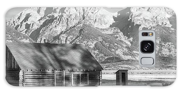 Galaxy Case featuring the photograph Moulton Homestead - Bunkhouse by Colleen Coccia