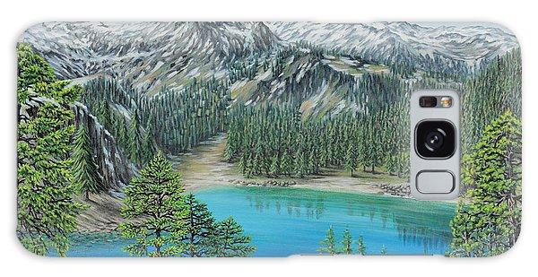 Mount Baker Wilderness Galaxy Case by Jane Girardot