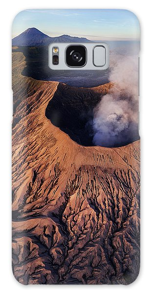 Mount Bromo At Sunrise Galaxy Case