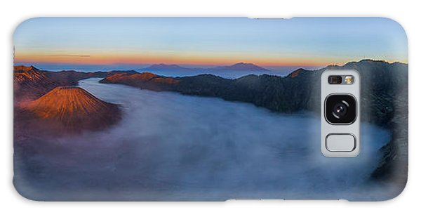 Mount Bromo Scenic View Galaxy Case