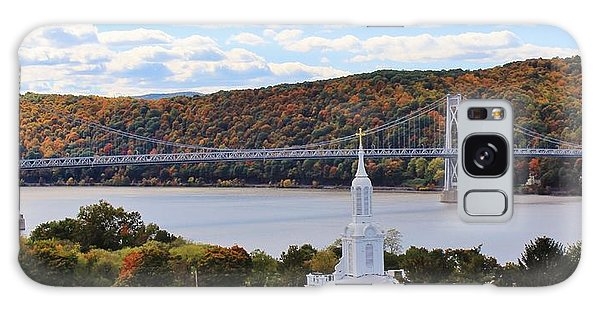 Mount Carmel And The Mid Hudson Bridge Galaxy Case