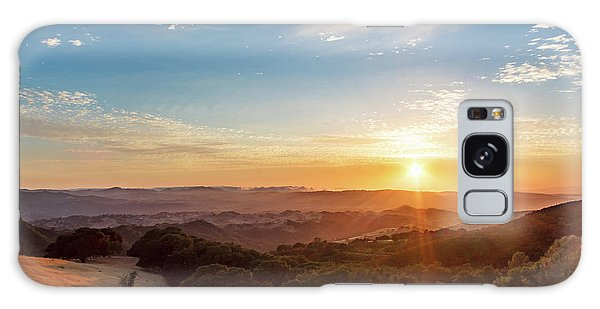 Mount Diablo Sunset Galaxy Case