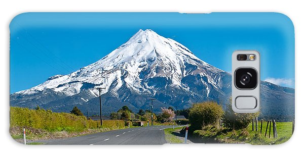 Mount Egmont Taranaki New Zealand Galaxy Case by Yurix Sardinelly