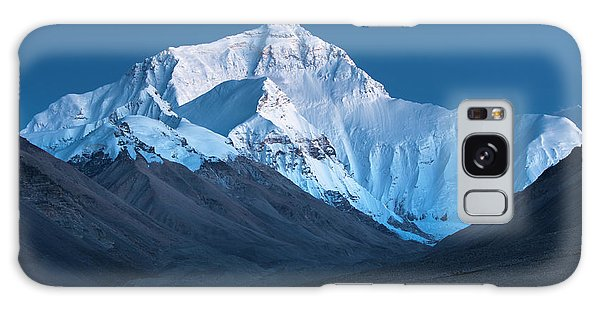 Mount Everest At Blue Hour, Rongbuk, 2007 Galaxy Case